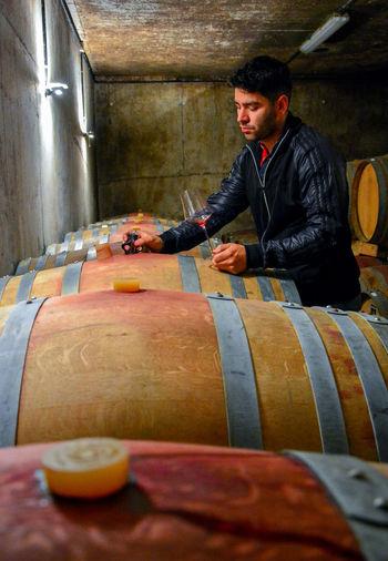Red Wine SPAIN Wine moments Wine Tasting Day Drink El Bierzo Enoturismo Oak Barrels Wine Bottles Winery Winery Tour