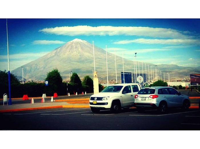 Arequipa - Peru Volcan Misti Photographic Memory Sky Aeroport ✈