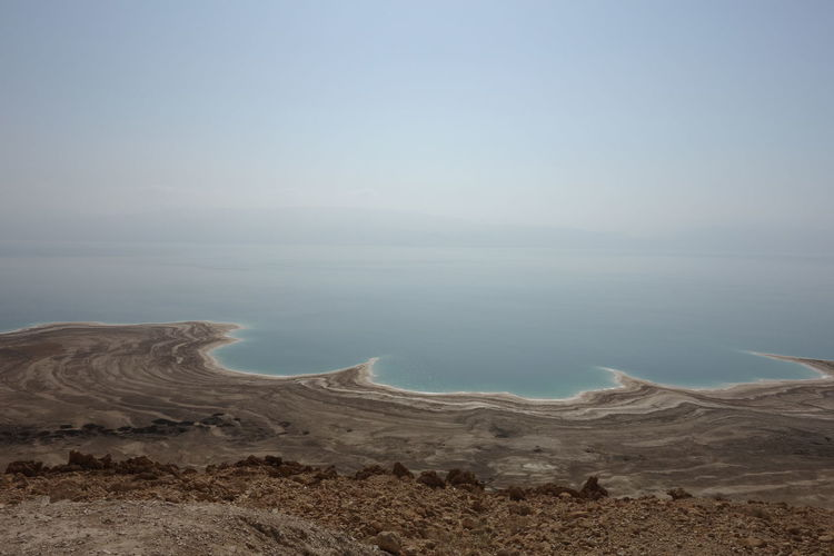 Beach Beauty In Nature Day Dead Sea  Dead Sea View Horizon Over Water Landscape Nature No People Outdoors Sand Scenics Sea Sky Tranquil Scene Tranquility Water