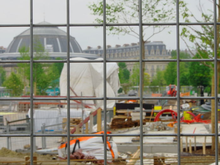 Grid on Civil Works 2017 2017-05 2017-5-06 Architecture Built Structure Construction Site Day Focus On Foreground No People Urban