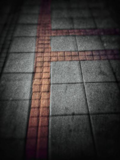 Walk this way Street Night Colors Sidewalk Walking Around Vignette Textured  Selective Focus No People Backgrounds Road Close-up Outdoors EyeEmNewHere