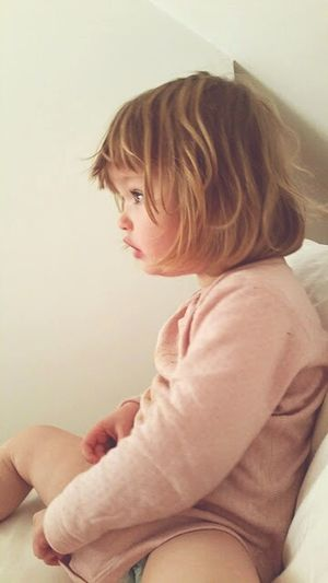 Beauty 2 Year Old Sunday Morning Pink Bedroom Bed Head Profile Sleepy Sleep Co Sleeping Parenting Love Childhood Nappy Rose Pink Soft Morning Light Early Morning Bedding Dazed Stare Wonder Sleeping Awake Summer Holiday