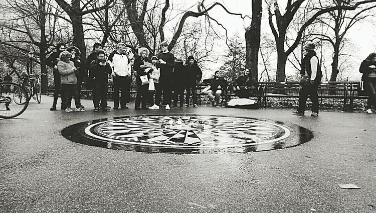 My visit to new york. Strawberry Fields Lennon New York City Manhattan Central Park