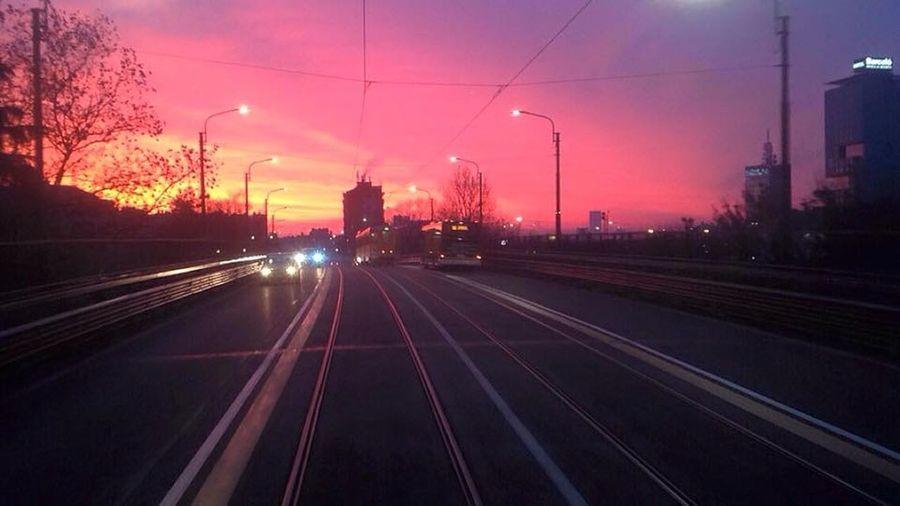 Milano City Morning Fire First Eyeem Photo