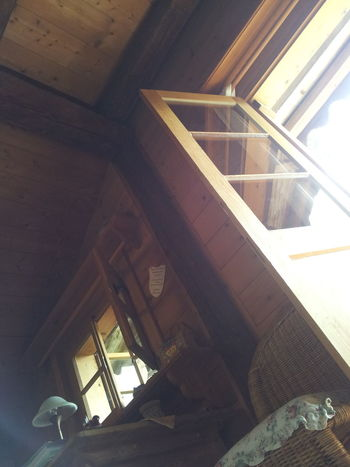Roof Architecture Built Structure Indoors  No People Window Wohnen Wood - Material