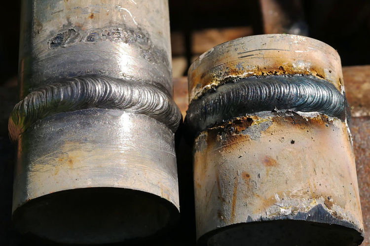 Metal Close-up Focus On Foreground Old No People Rusty Indoors  Still Life Day Silver Colored Deterioration Weathered Decline Container Two Objects Shiny Obsolete Group Of Objects Cylinder