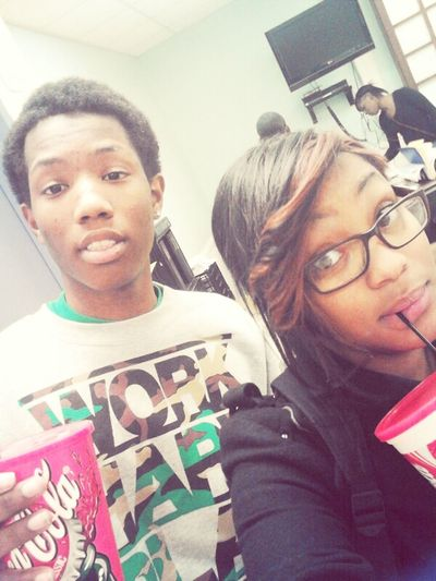 School Today Me And Bre