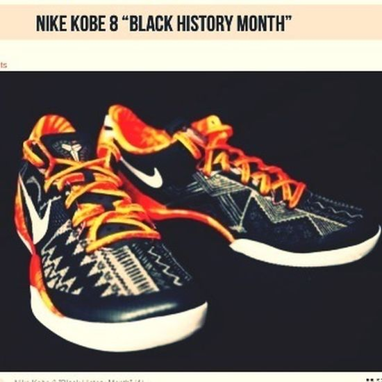 Kobe 8's BHM On The 26th Of This Month I Gotta Get Them They Sharp And They Have The OldSchool 90's Touch