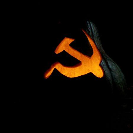 Soviet. Soviet Red Halloween Threat Cold War