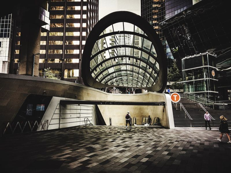 W Y N Y A R D S T A T I O N 🚇 Sydney Community Wynyard Station Sydney Architecture Built Structure Indoors  Day Travel Destinations Sport Building Exterior City No People