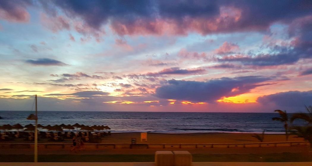 Sunset Beauty In Nature Outdoors Cloud - Sky Vacations Romantic Sky Dramatic Sky No People EyeEm Best Shots Tenerife España The Best From Holiday POV