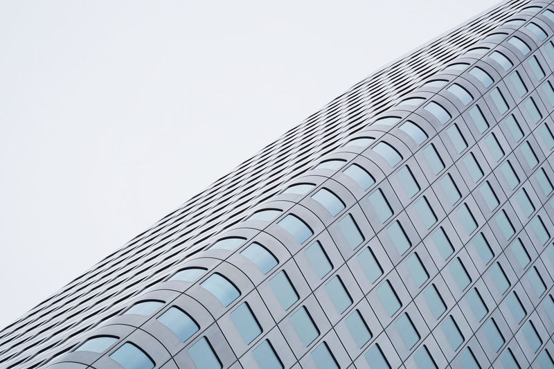 Façade Abstract Architecture Building Exterior Built Structure Low Angle View Modern Office Building Exterior Pattern Skyscraper Windows The Architect - 2018 EyeEm Awards