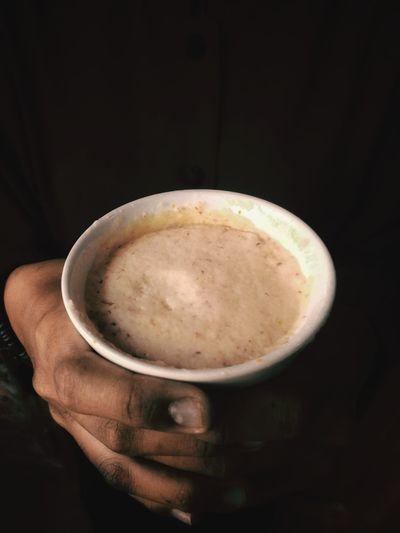 steeping coffee