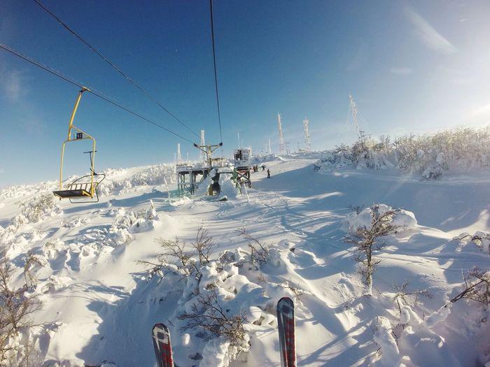 Cerro Mirador Club Andino Snow Skiing Skies