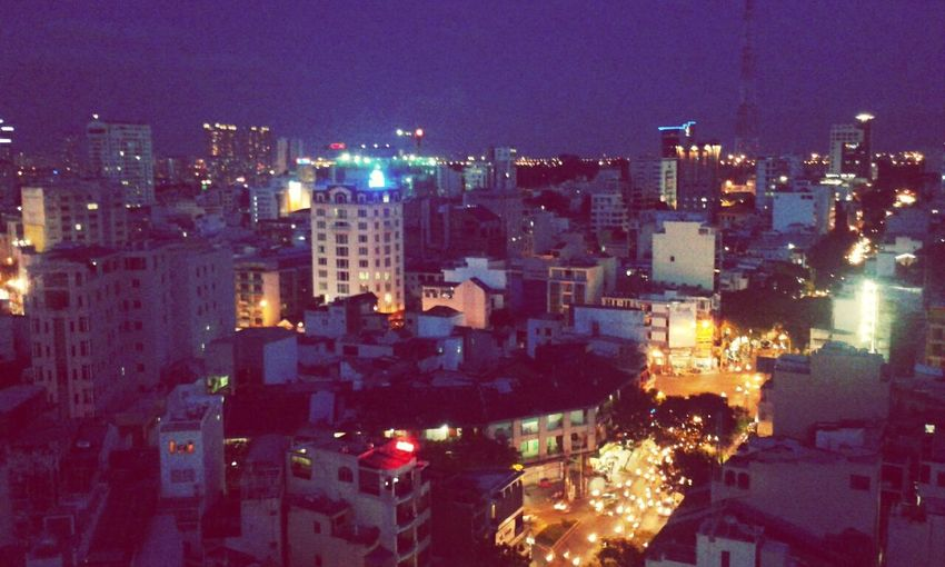 night in Saigon Enjoying The View