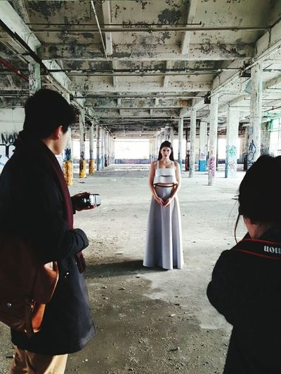editorial shoot featuring Vinn-Alexander Collins AW 2105 womenswear collection Fashion Fashiondesign Style Womenswear Couture Rtw