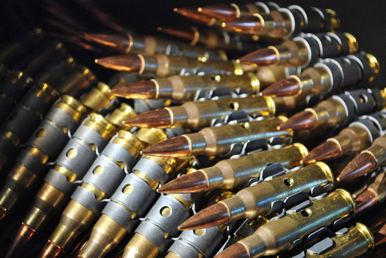 Close-up of bullets