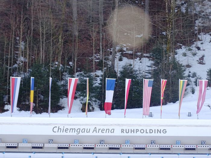 Ruhpolding Ruhpolding Biathlon Arena Cold Temperature Day Nature No People Outdoors Snow Sports Arena Tree Winter