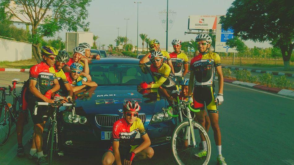 Cyclisme Cycling Sport Enjoying Life Training Ramadan  Meknès Frends Cyclist Velo
