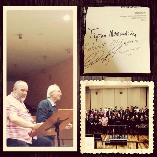 Ensayo para el estreno en México del Requiem de Mansurian Classicalmusic Live Music Music Ilovemusic Mexico Bellasartes Enjoying Life Mansurian Armenianmusic