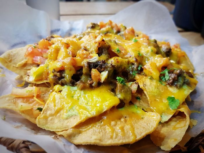 Nachos for life Nacho Food Beef Comfortfood Philippines Delicious EyeEm Selects Savory Pie Yellow Close-up Food And Drink Sweet Pie Pesto Sauce Pancake Italian Food