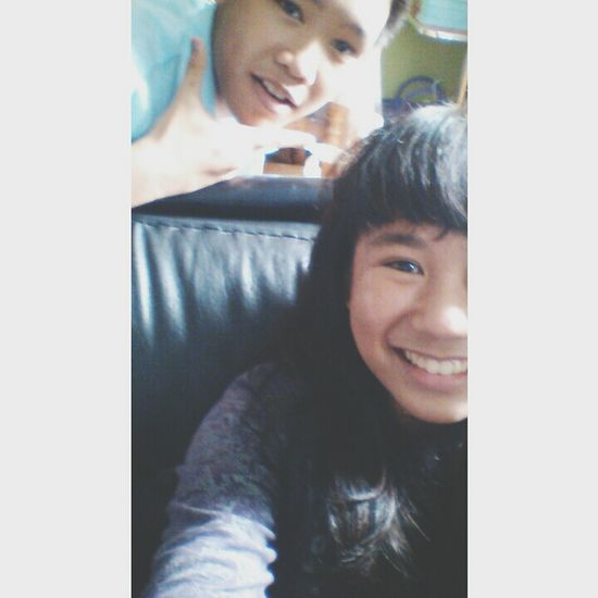 With Laurencia.. Chos laurence :p Happymoments Friday Fridayblowout
