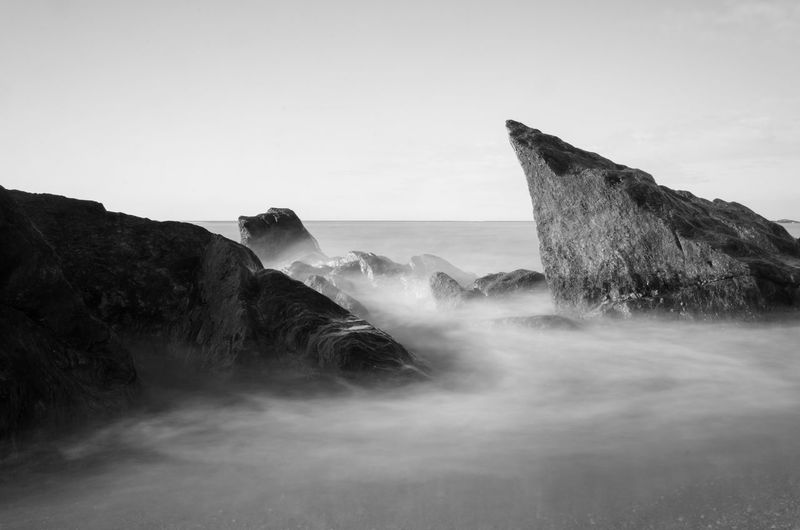 Backgrounds Beach Black And White Blurred Motion Day Exposure Full Frame Geology Long Exposure Majestic Motion Natural Pattern Nature No People Ocean Outdoors Physical Geography Power In Nature Sand Sea Speed Water Wave Wave Pattern Waves