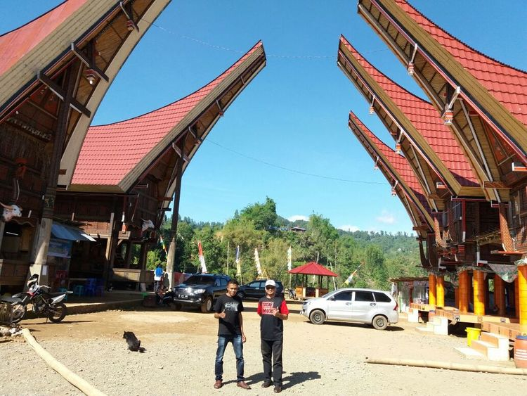 Tongkonan toraja City Sky Day People Outdoors One Person Adults Only Adult Tourism Travel Destinations Architecture
