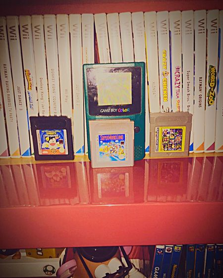 My Awesome GameBoy Color! Nintendo Gameboy Gbc Gameboycolor Color <3 Nintendo