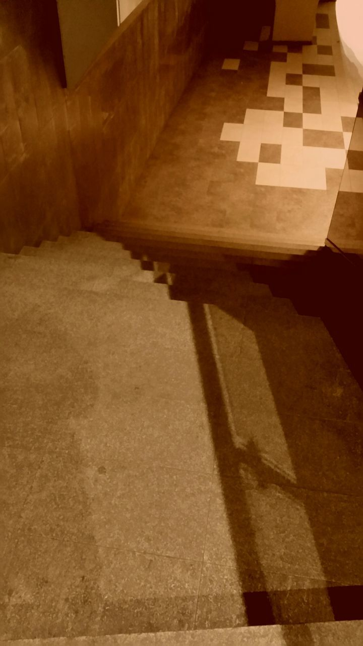steps, indoors, no people, shadow, built structure, architecture, day