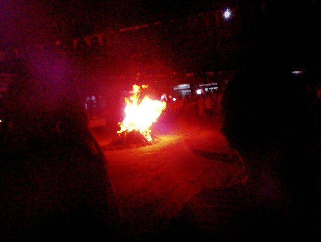 In my school Fire Bymyphone Night