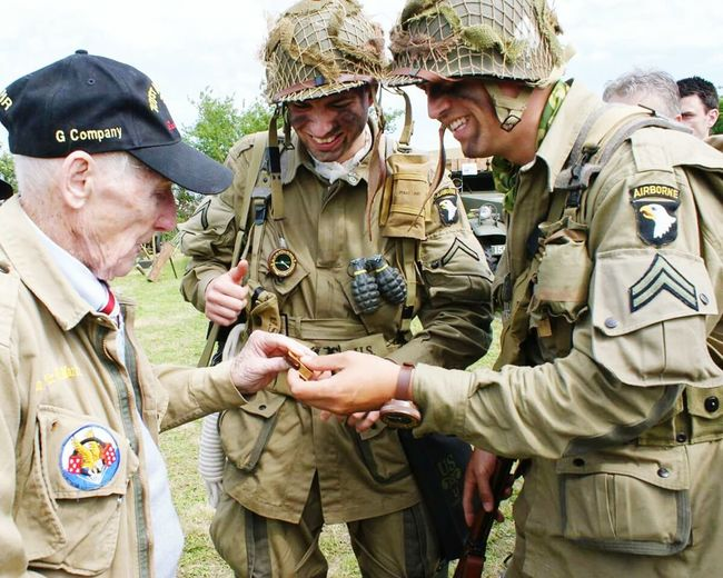 Airborne All The Way Dday Paratroopers Overlord Normandie Us Army The Paratrooper Diaries Sainte Mère Eglise Veterans Longest Day