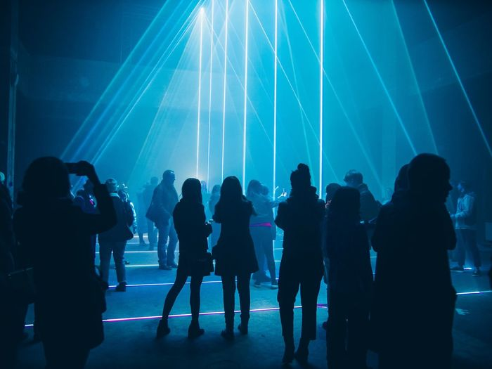 Group Of People Night Crowd Real People Large Group Of People Nightlife Silhouette Music Event Illuminated Arts Culture And Entertainment Women Enjoyment Lifestyles Lighting Equipment Light - Natural Phenomenon Men Leisure Activity Fun Light