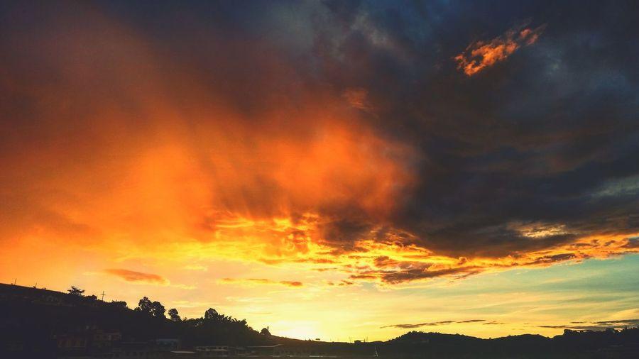 Fim de tarde Minasgerais Brasil Dramatic Sky Nature Sunset Sky