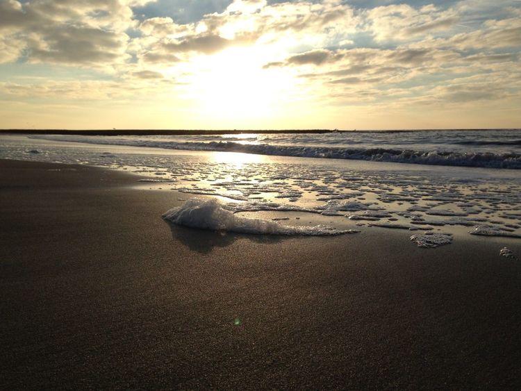 Sea Sunset Beach Beauty In Nature Sky