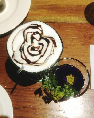 Coffee Flower Chocolate Kooka