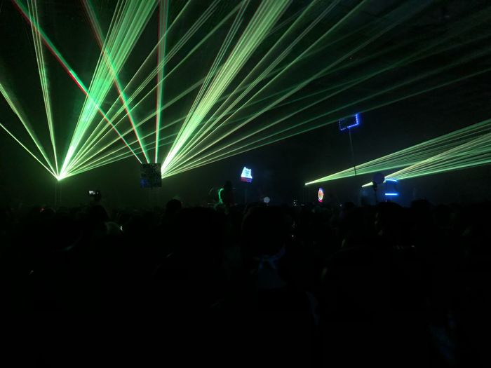 Rave Crowd Night Illuminated Music Arts Culture And Entertainment Performance Group Of People Event Large Group Of People Enjoyment Real People Stage - Performance Space Light - Natural Phenomenon Stage Nightlife Audience Excitement Fun Light Lighting Equipment