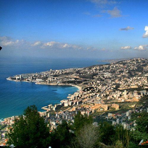 The serene view from Harissa Harissa Lebanon