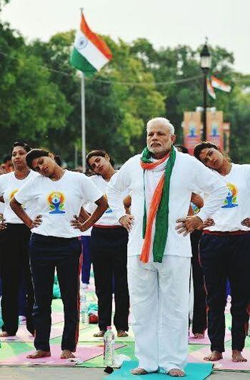 world yoga day India