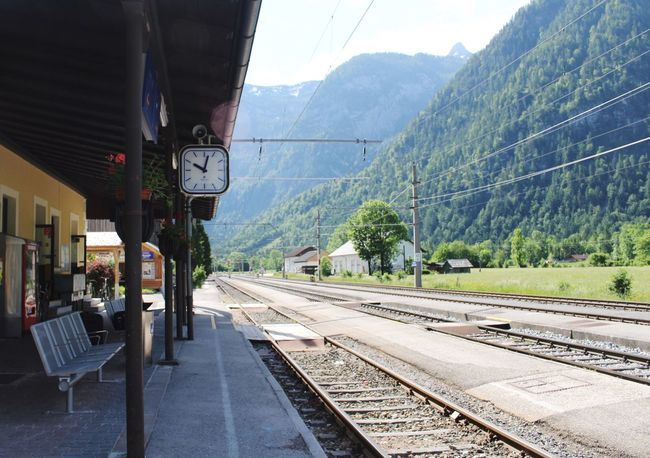 A memory to remember. Austria Train Station As Time Goes By