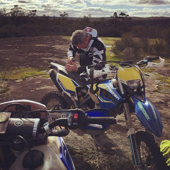 Enjoying Life Outdoors Dirt Bike