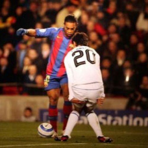 Miedo al mejor de todos los tiempos* ⚽? R10 Ronaldinho  Magó Restepo