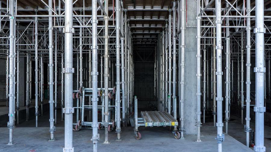 Scaffolding in building