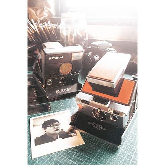 Polaroid. Polaroid SX70 Slr680 無謂藝術 film filmcamera 菲林 filmisnotdead reversalfilm filmphotography bw blackandwhitefilm canton guangzhou