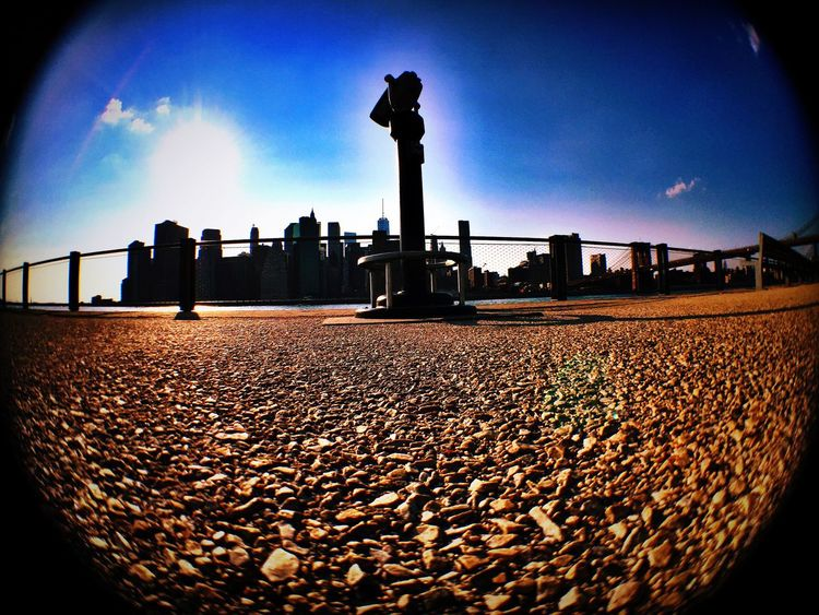 Gazing at the Cityofdreams  from anothjer point of view..... IPhoneography Eyemphotography Olloclip Citylife Brooklyn NYC