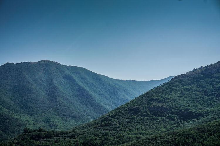 Liguria hills.