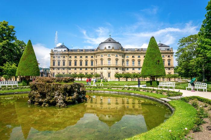 Würzburg Architecture Architecture Bavaria Bayern Built Structure Castle City Cityscape Day Outdoors Schloss Sky Travel Destinations Veitshöchheim Würzburg