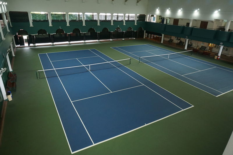 Tenniscourt Tennis Court Indoors