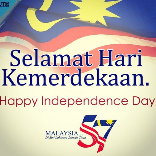 Happy National Day Malaysia ♡♡♡