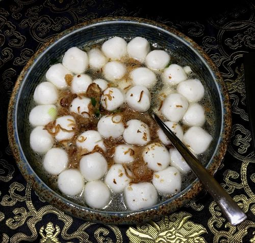 hot fishball soup Fishball Soup Hot Soup Hot Fishball Soup Food Porn Food Food Photography Foodpics Fishballs Food For The SOUL